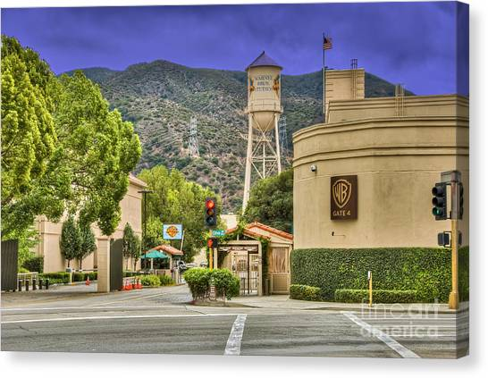 Warner Bros.  Burbank Ca  Canvas Print
