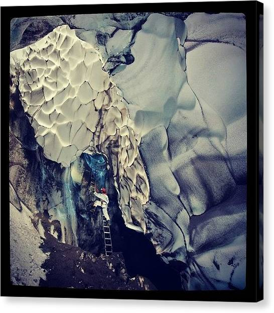 Antarctica Canvas Print - #warrencave, #antarctica by Oscar Lopez