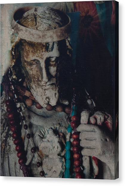 Warrior Of The Spirit Canvas Print