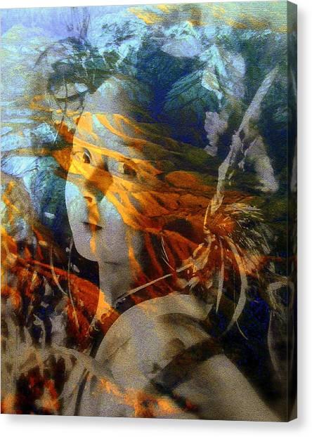 Warrior Spirit Canvas Print