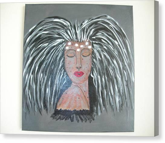 Warrior Woman #2 Canvas Print