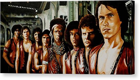 Warriors Come Out To Play Canvas Print