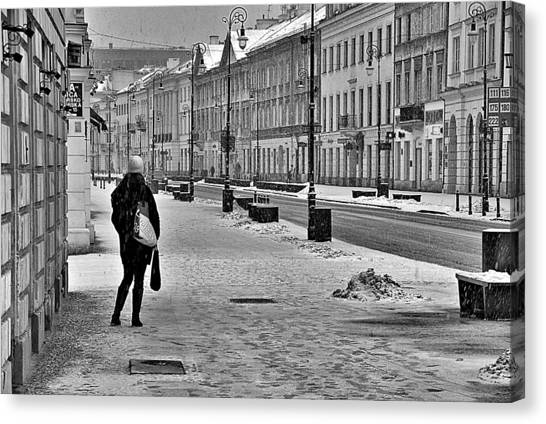 Warsaw 1 Canvas Print by Steven Richman