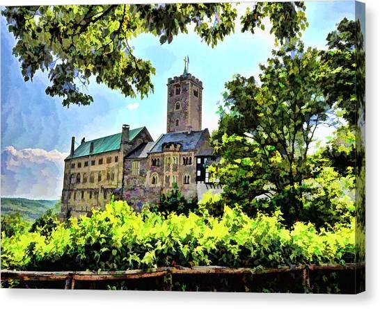 Wartburg Castle - Eisenach Germany - 1 Canvas Print