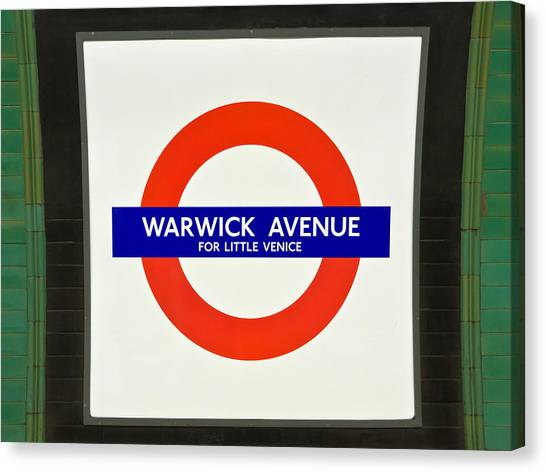 Warwick Station Canvas Print