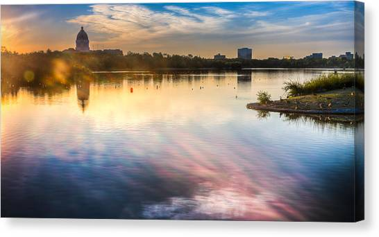 Wascana Canvas Print by Chris Halford