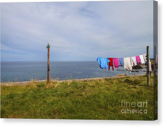 Washing Day Canvas Print