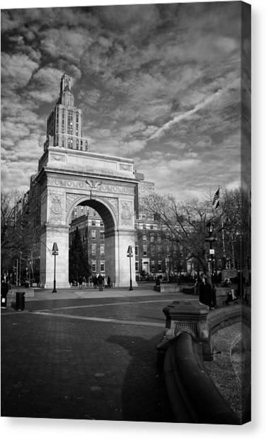 Washington Arch Canvas Print