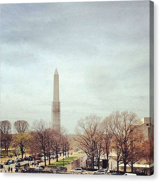 Washington Nationals Canvas Print - #washington #dc #national #mall by Ankur Agarwal