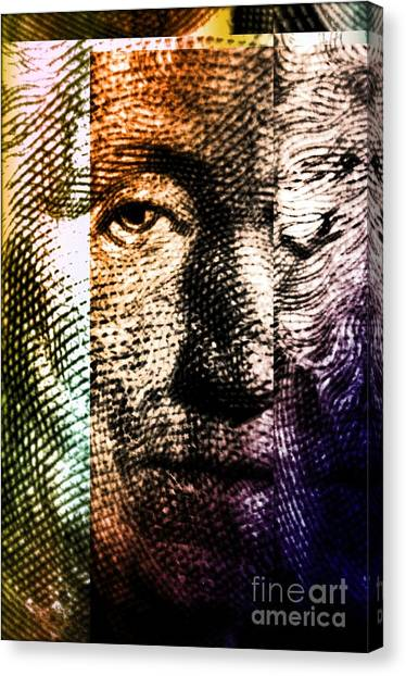 Political Science Canvas Print - Washington by Deon Kohl