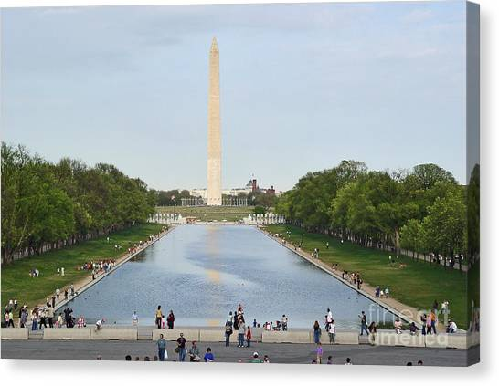 Washington Monument 1 Canvas Print