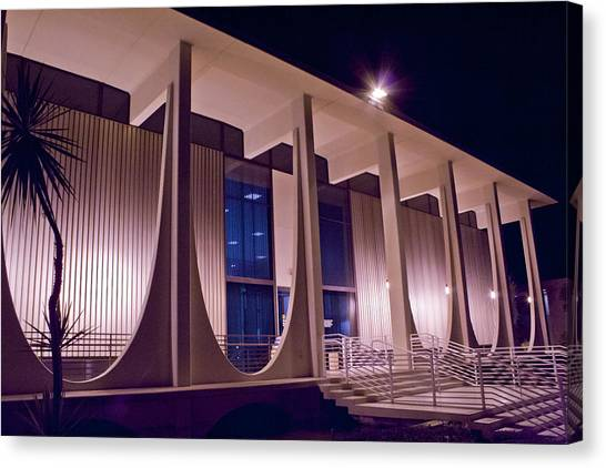 Washington Mutual Building Palm Springs Canvas Print
