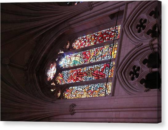 Washington National Cathedral - Washington Dc - 011381 Canvas Print by DC Photographer