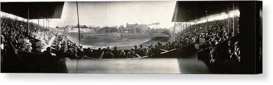Los Angeles Angels Canvas Print - Washington Park Los Angeles Angels 1911 by Bill Cannon