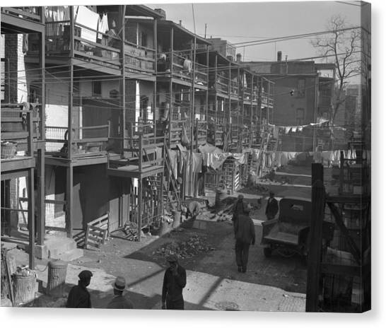 Washington Slum, 1935 Canvas Print by Granger
