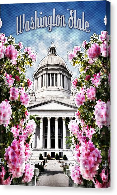 Washington State Capitol Canvas Print