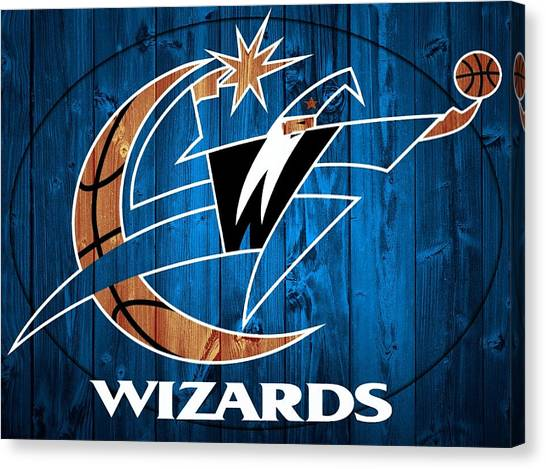 Washington Wizards Canvas Print - Washington Wizards Barn Door by Dan Sproul