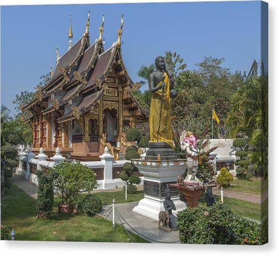 Wat Chedi Liem Phra Ubosot Dthcm0831 Canvas Print