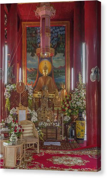 Wat Chedi Liem Phra Wihan Buddha Image Dthcm0827 Canvas Print