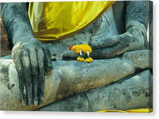 Wat  Mahathat Canvas Print