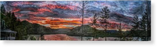 Watauga Lake Sunset Canvas Print