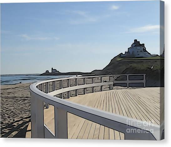 Taylor Swift Canvas Print - Watch Hill Tranquility by Amy Martira