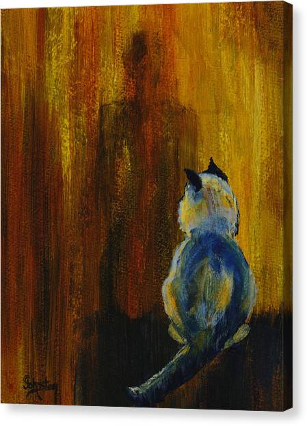 Canvas Print - Watch Out For Jack by Cindy Johnston