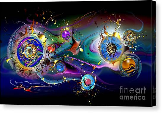 Watches In The Sky Canvas Print