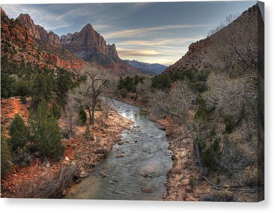 Watchman Of Zion Canvas Print