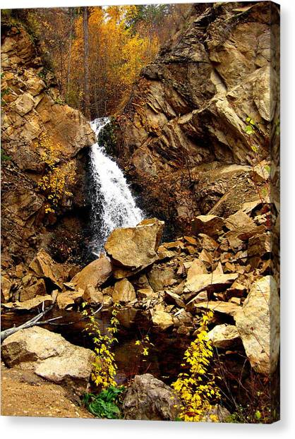Water Always Gets Through Canvas Print