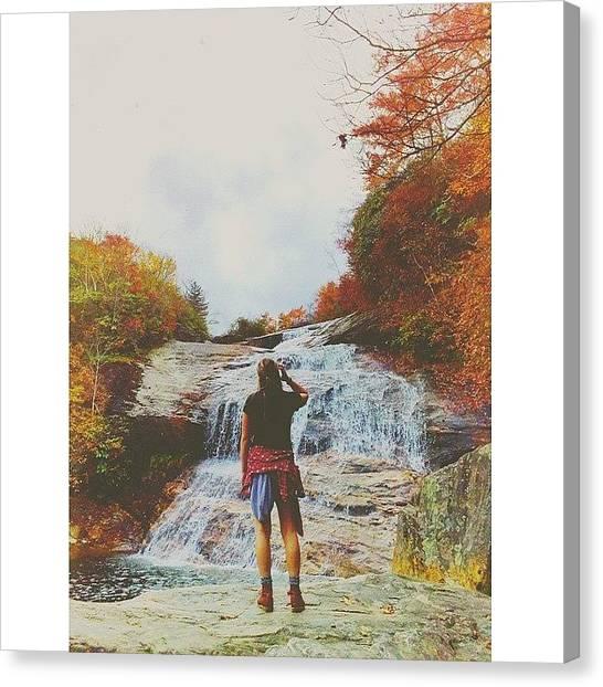 Appalachian Mountains Canvas Print - Be Water My Friend by Simon Nauert