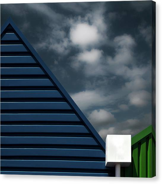Triangles Canvas Print - Water Collector by Gilbert Claes