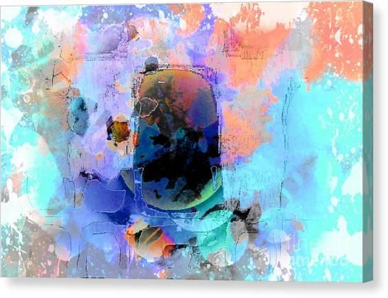 Water Color Cloth Canvas Print