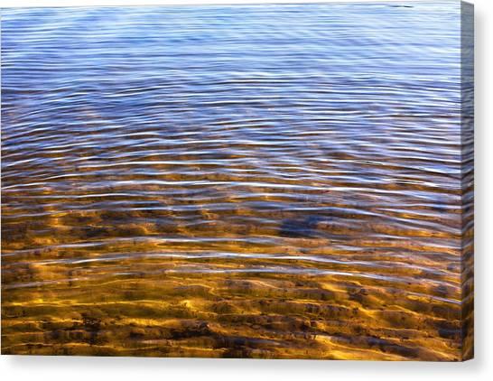 Water Concerto 14 Canvas Print