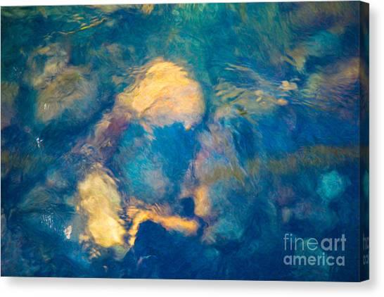 7176f79cfa3 4x6 Canvas Print - Water Enigma Abstract River Artwork By Omaste Witkowski  Owfotogr by Omaste Witkowski