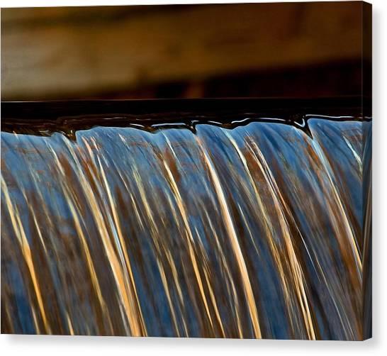 Water Falls Edge 3 Canvas Print