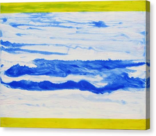 Water Flow Canvas Print by Tom Hefko
