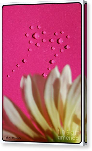 Water Flowers Canvas Print by Kip Krause