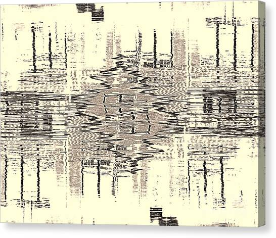 Water  Graph Canvas Print
