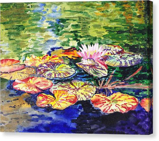 Water Lilies Canvas Print
