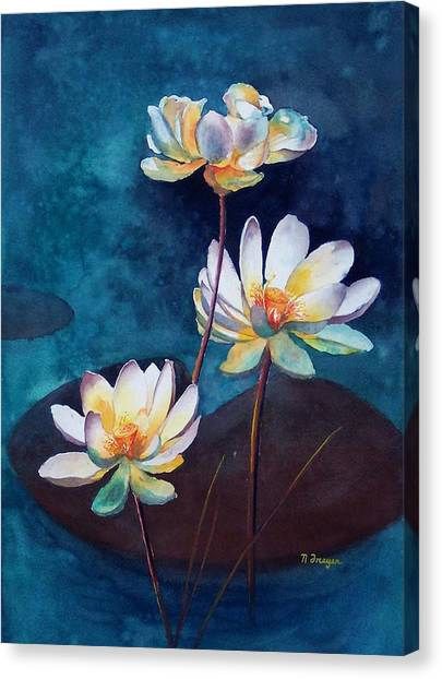 Water Lotus Canvas Print