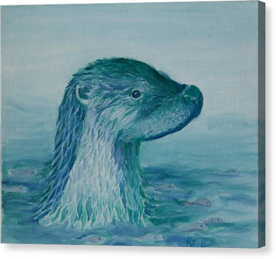 Prince Of The Water Canvas Print
