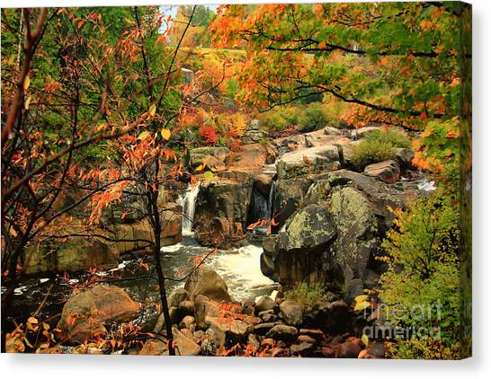 Water Plume Canvas Print