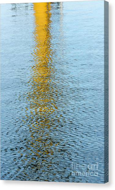 Water Reflections Canvas Print by Kelly Morvant