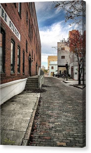 Water Street Canvas Print