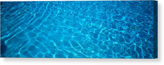 Abstract Movement Canvas Print - Water Swimming Pool Mexico by Panoramic Images