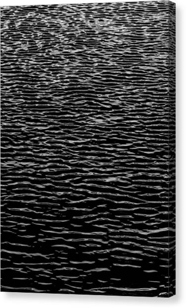 Water Wave Texture Canvas Print