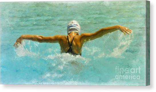 Water Wings Canvas Print