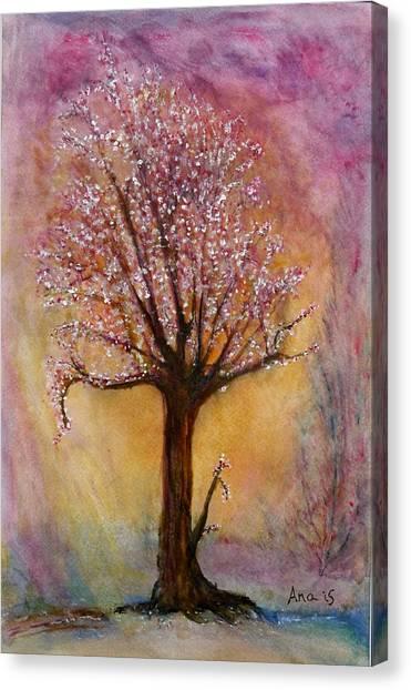 Watercolor Canvas Print by Anais DelaVega