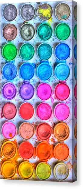Watercolor Delight Canvas Print